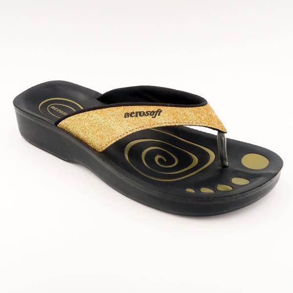 Aerosoft sandal guld