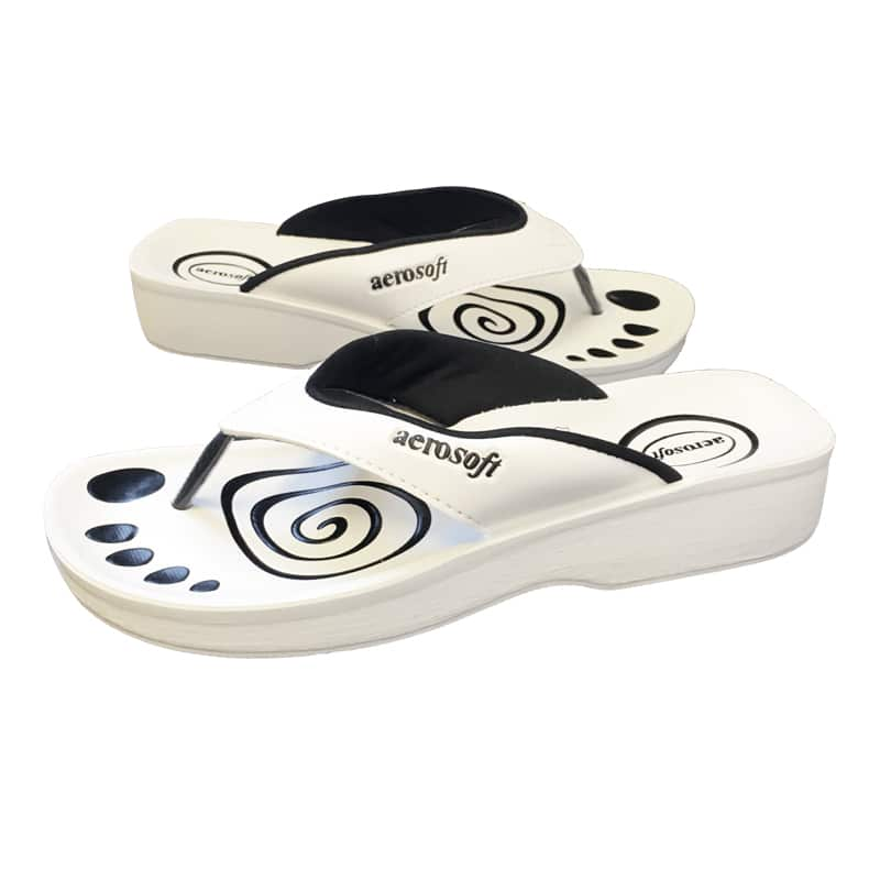 Aerosoft sandaler hvide