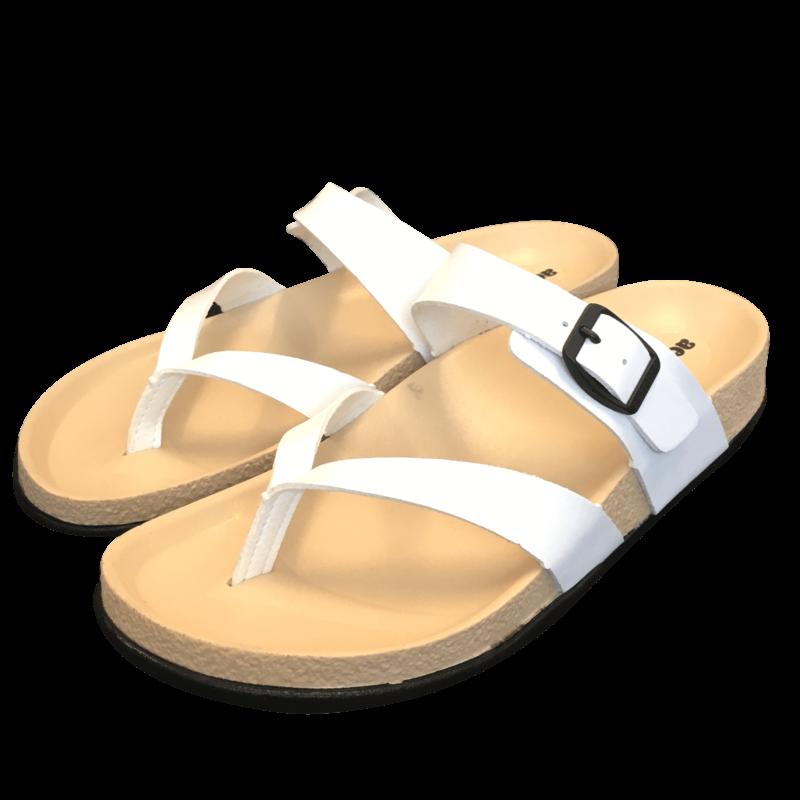 Aerosoft sandaler i hvid